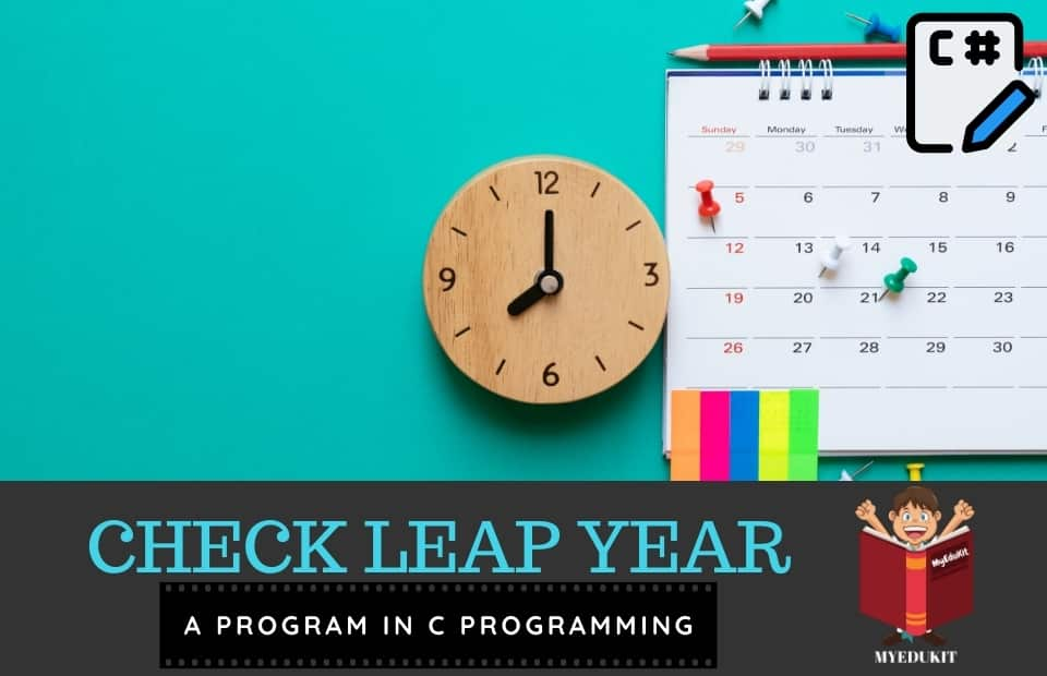 check leap year in c